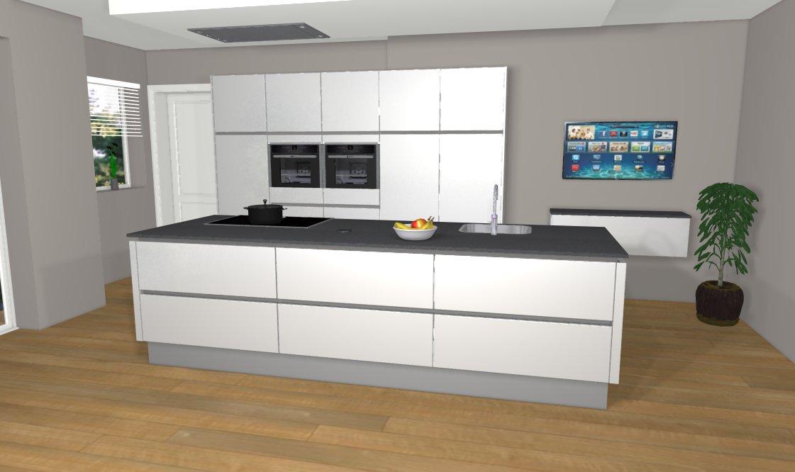 Indeling keuken maken for Keuken 3d ontwerpen